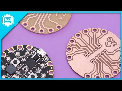 Doubled-Sided PCBs // CNC MIlling