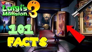 101 Awesome Facts About Luigi's Mansion 3! (Analysis)