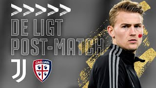 🎙? MATTHIJS DE LIGT POST-MATCH INTERVIEW | Juventus 2-0 Cagliari | Serie A