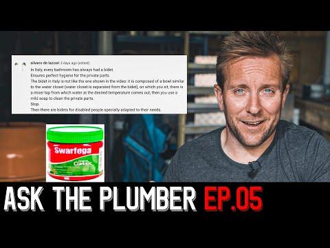 PLUMBING ADVICE COMMENTS Episode.5 Bidets