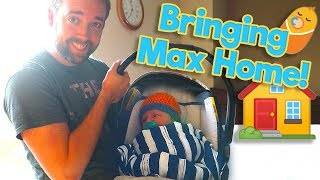 Bringing New Baby Home! Mom and Newborn Max Back From the Hospital / The Beach House