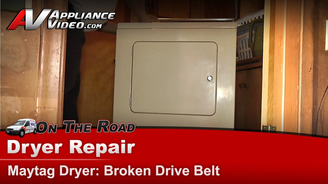 Maytag Dryer Repair Does Not Produce Heat Lde410 Youtube