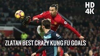 Zlatan Ibrahimovic Best Crazy Kung Fu Goals