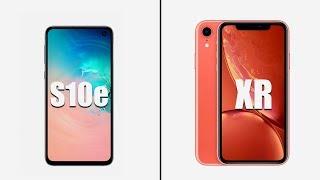 Samsung Galaxy S10e, réponse à l'iPhone XR ? Lequel choisir ?