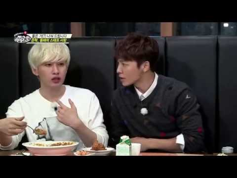 141123《SJ M的Guest House 2014》EUNHAE sharing spicy food to PD