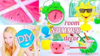 5 DIY Summer Room Decor Ideas – Bright And Colorful DIY Room Decorations For Summer