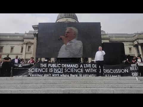 """David Icke spricht zu Zehntausenden von Freiheitskämpfern in London: """"Wir werden das gewinnen""""!"""