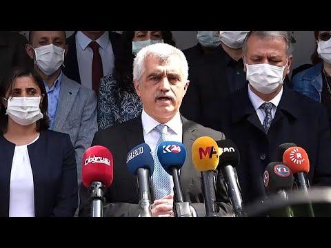 İnsan hakları savunucusu Gergerlioğlu'nun 'Adalet Nöbeti'