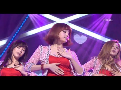 Girls Day - Don't forget me, 걸스데이 - 나를 잊지마요, Music Core 20121117