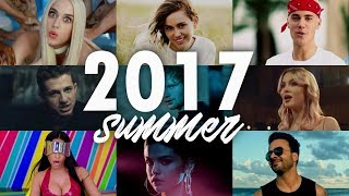 SUMMER HITS 2017 | Mashup +60 Songs | T10MO
