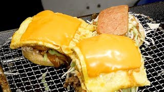 Spam Egg Burger - Korean street food