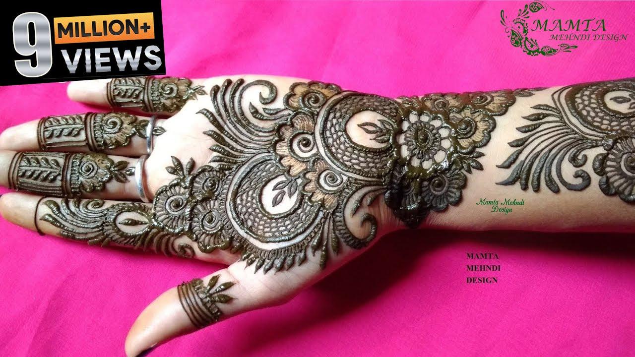 Beautiful Stylish Arabic Mehndi Design 2019 Mamta Mehndi