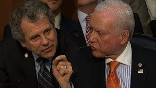 Senators get into shouting match over tax plan