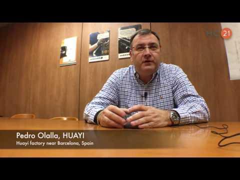 Exclusive interview with Pedro Olalla, HUAYI Compressor Barcelona