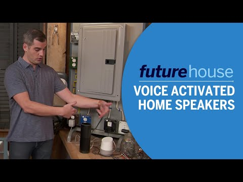 Future House | Voice Activated Home Speakers