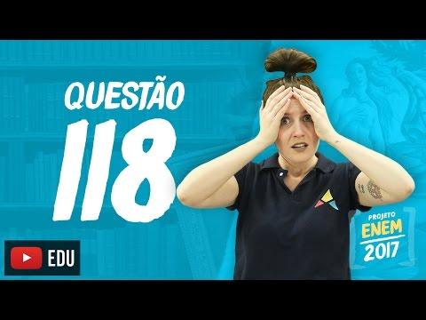 Enem 2016: Questão118(CadernoRosa)