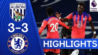 West Brom 3-3 Chelsea | Tammy Abraham Grabs Late Equaliser! | Highlights