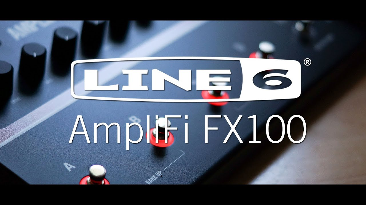 line 6 amplifi fx100 mustache metal youtube. Black Bedroom Furniture Sets. Home Design Ideas