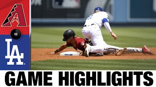 Diamondbacks vs. Dodgers Game Highlights (7/11/21)   MLB Highlights