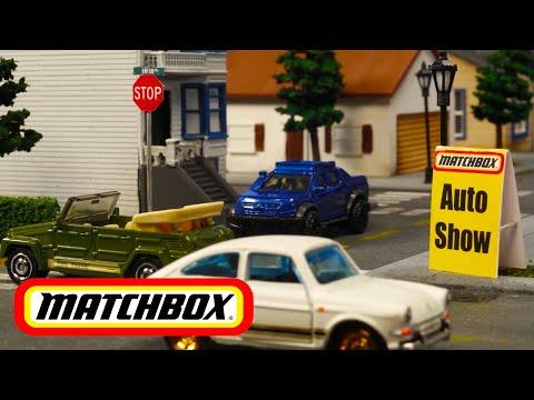 "MATCHBOX® in ""THE MATCHBOX AUTO SHOW""   Hot Wheels"