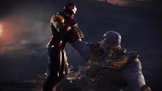 "What If ""Avengers: Endgame"" Had A Dark Ending? - IRON MAN vs. THANOS (Fight Scene)"