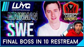 FINAL BOSS TheMainManSWE vs WHY - Tekken 7 Online Challenge EU North