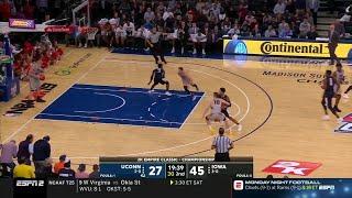 Highlights: Iowa vs. Connecticut | Big Ten Basketball
