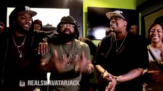 Female Rapper Yoshi G vs Swavatar Jack - Rap Battle - AHAT ATL