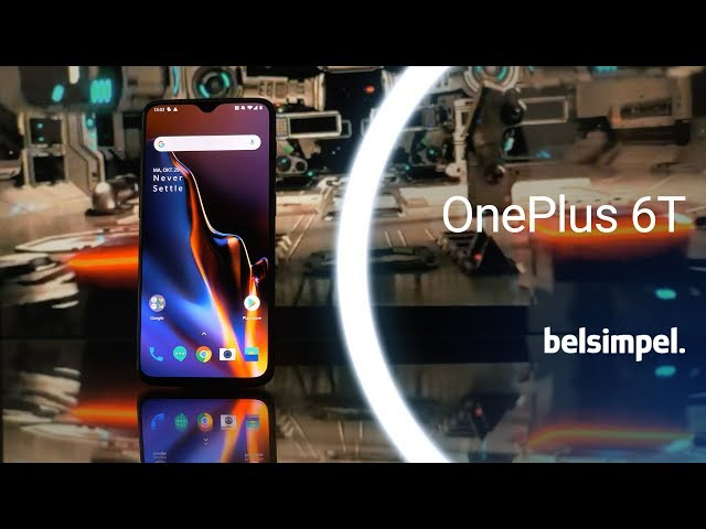 Belsimpel-productvideo voor de OnePlus 6T 8GB/128GB Mirror Black
