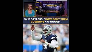 Skip Bayless Celebrates Cowboys' Victory | UNDISPUTED #shorts