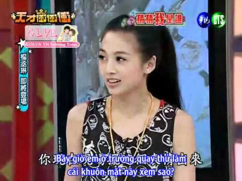 {Vietsub by GLVN} GuiGui in show Chong chong (talk about Aaron)