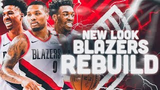 Hassan Whiteside Traded! 2020 Portland Trailblazers Rebuild | NBA 2K19