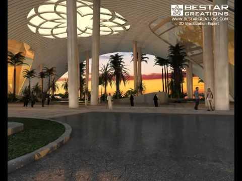 Lusail New Iconic Hotel, Qatar - BestarCreations
