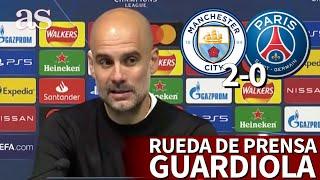 MANCHESTER CITY 2 - PSG 0 | Rueda de prensa de GUARDIOLA | Diario AS