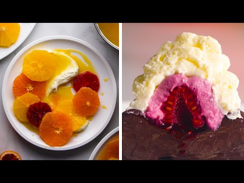 These Light and Lovely Desserts are Both Elegant and Easy! | DIY Dessert Recipes by So Yummy