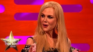 Nicole Kidman Gets Flustered Talking About Alexander Skarsgård | The Graham Norton Show