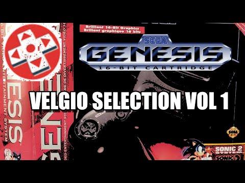 SEGA GENESIS GAMES BY DAVID VELGIO VOL 1
