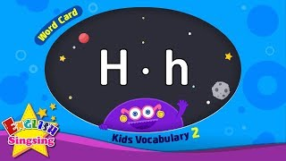 "Kids vocabulary compilation ver.2 - Words Cards starting with H, h - Repeat after ""Ting (sound)"""