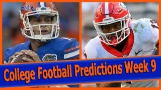 College Football Predictions Week 9