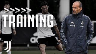 ☔ Pre-Monza Shooting Drills & Gym work! | Juventus Training