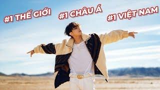 SƠN TÙNG M-TP lập kỷ lục KHỦNG: #1 Thế Giới, #1 Châu Á, #1 Việt Nam sau 12 tiếng phát hành MV mới