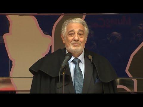 Plácido Domingo se defiende de una acusación de acoso sexual