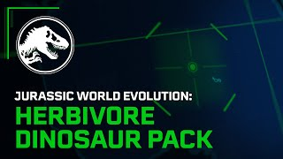 Herbivore Dinosaur Pack Launch Trailer preview image