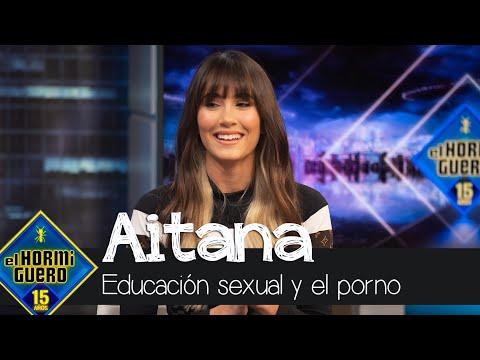 Aitana habla sobre la educación sexual y el porno – El Hormiguero