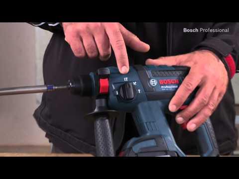 Bosch 0611904003 GBH18V-EC 18v Rotary Hammer Drill Body Only In L-Boxx