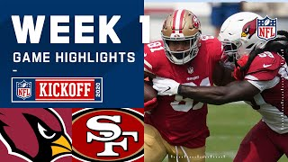 Cardinals vs. 49ers Week 1 Highlights | NFL 2020