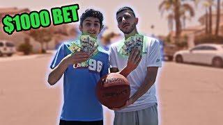1v1 vs FaZe RUG for $1000 (CRAZY CLOSE GAME)