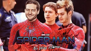 "Andrew Garfield & Tobey are Totally In Spider-Man No Way Home! He Say's ""Never Say Never"""