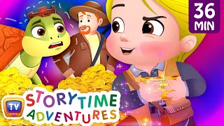 The Magical Slippers, The Magical Bowl & More Stories - ChuChuTV Storytime Adventures Collection