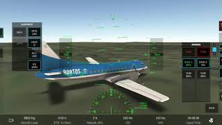 Hovering above the ground with no gears and one functioning engine